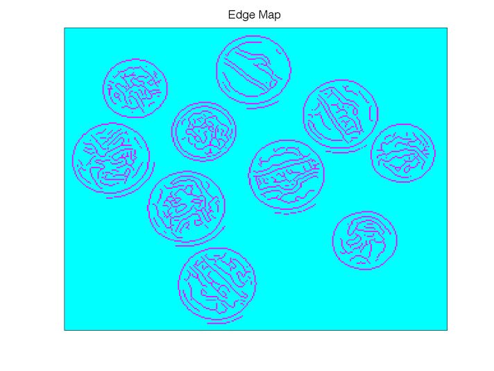 Figure 2: Edge Map from Canny Edge Detector